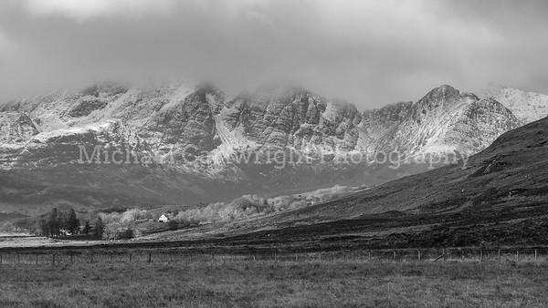 Mountain Backdrop, Isle of Skye
