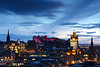 Sunset over Edinburgh Castle-©LesleyDonald