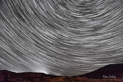 Star Trails over Sligachan