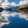 Eilean Donan Castle and Mountain Sunshine