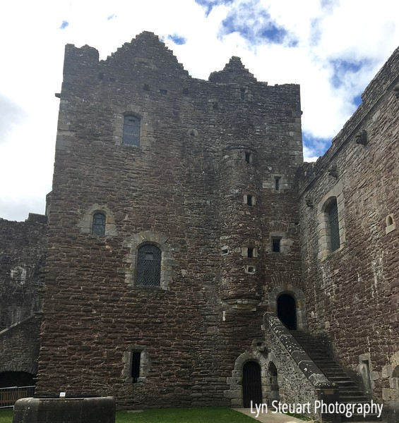 Doune Castle aka Castle Leoch for Outlander fans