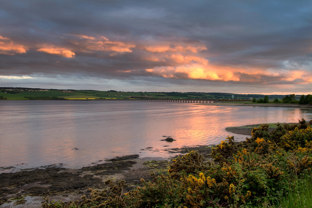 Cromarty Bridge Sunset