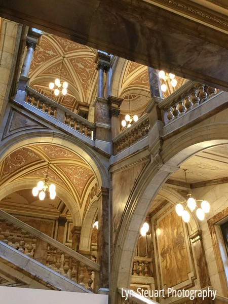 Marble staircase in the Cith Chambers in Glasgow - Magnificent