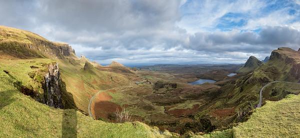 Quiraing, Pano, Isle of Skye
