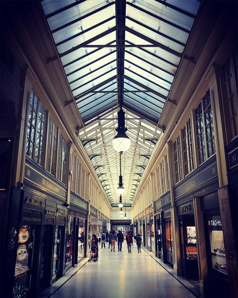 Glasgow's Argyll Arcade. 2017.