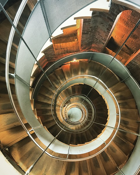 Spiral Staircase at the Lighthouse in Glasgow. 2017.