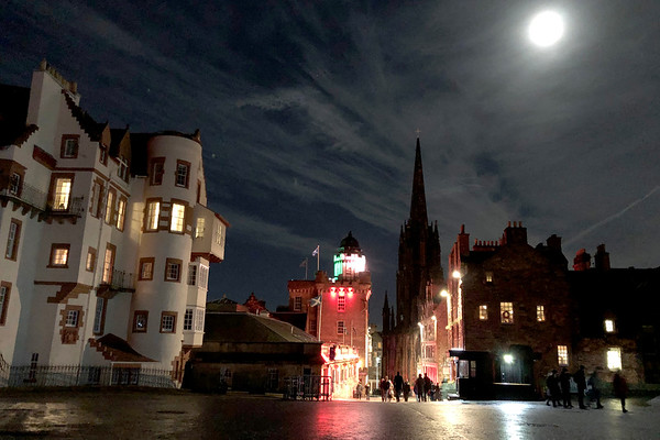 The Edinburgh Castle Esplanade, The Royal Mile, Edinburgh, Scotland, United Kingdom