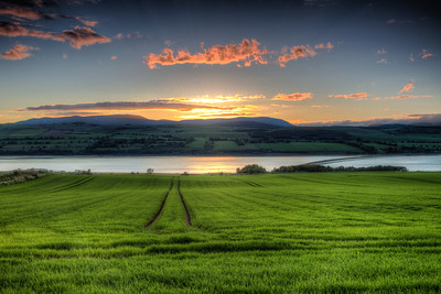 Culbokie Sunset, Scotland