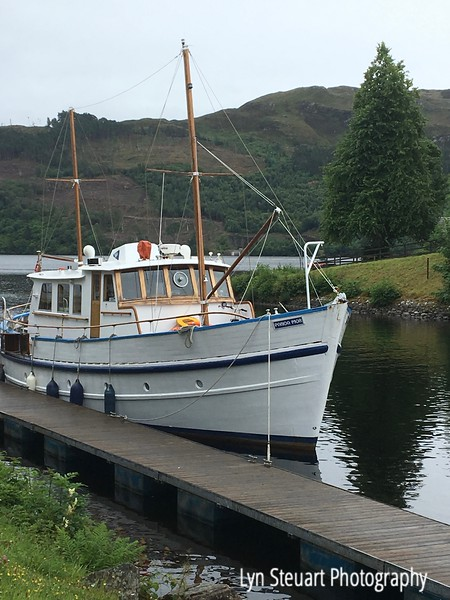 boat  at Fort Augustus at Loch Ness