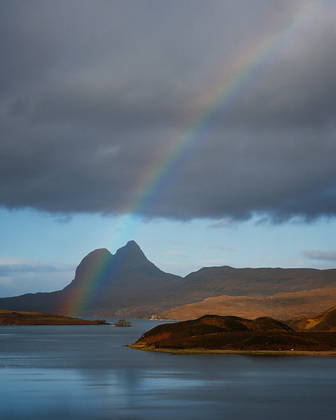 Rainbow Over Cam Loch