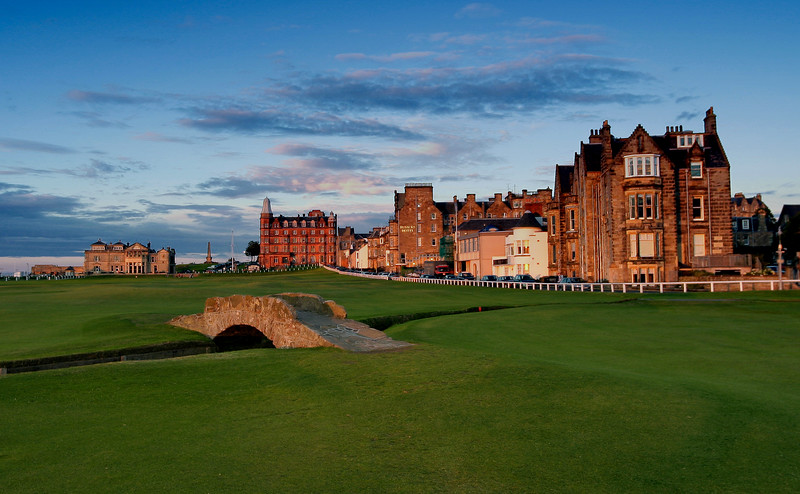 Swilken Bridge St Andrews Old Course