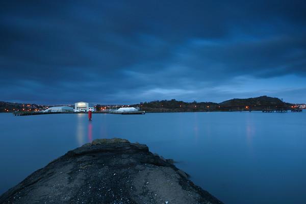 Inverkiething Harbour, Fife © Lesley Donald