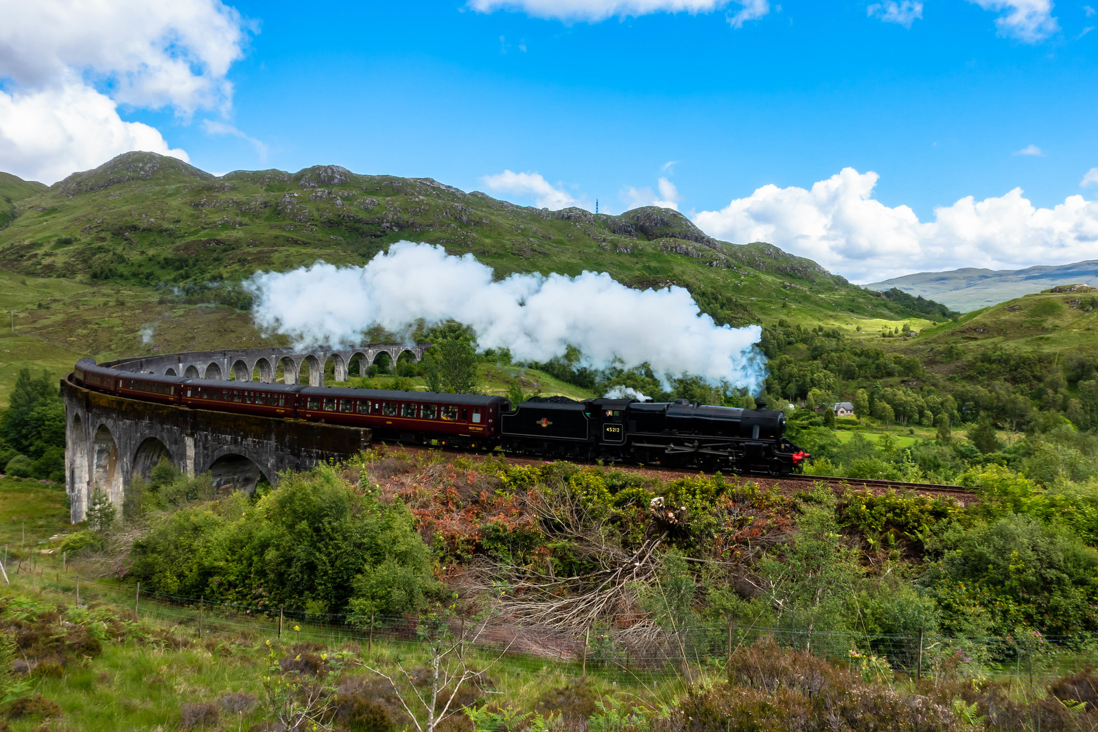 How to See the Harry Potter Train in Scotland
