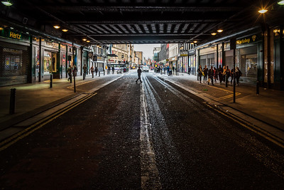 Argyle Street under Glasgow Central Station.