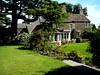 Drem, Scotland. The back of the Drem Farmhouse, gardens and more gardens.