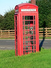 Drem, Scotland. This working phone was out in the middle of nowhere, but helped us find our way home more than once.