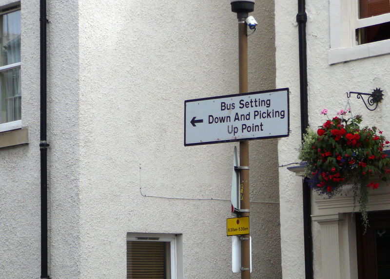 """North Berwick, Scotland.  Why don't they just say """"Bus Stop?"""""""