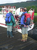 Hiking couple at Loch Lomond