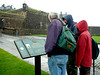 A rainy day at Stirling Castle.