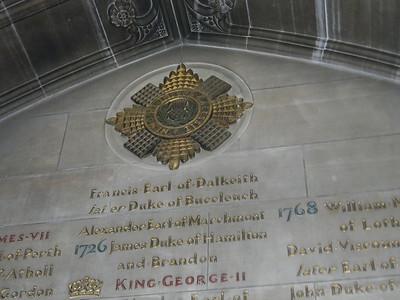 2586  Thistle Chapel, St  Giles Cathedral, Edinburgh