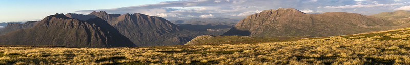 The panoramic view from Ruadh Stac Mor