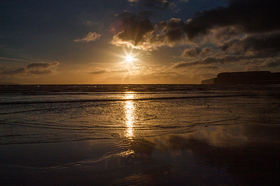 Sunset at Dunnet Beach