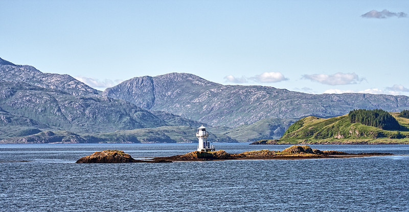 Appin Light and Shuna Island, Loch Linnhe
