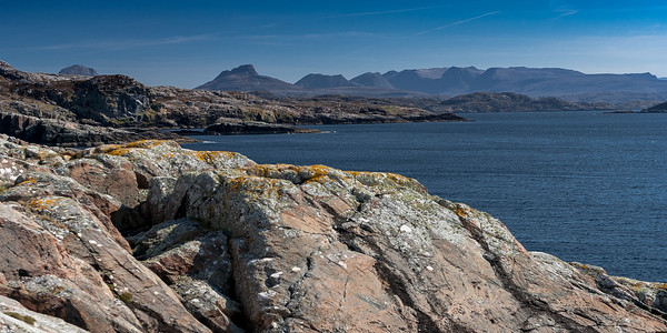 Coigach Mountainscape