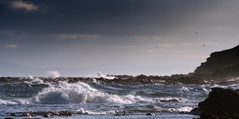 Waves Breaking at Rockfield