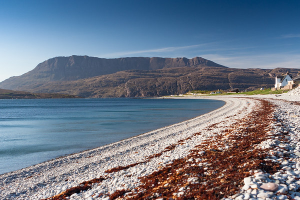 Ben More Coigach from Ardmair Beach