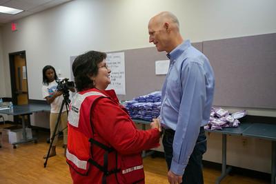 9-5-2016 Visit to Red Cross Volunteers