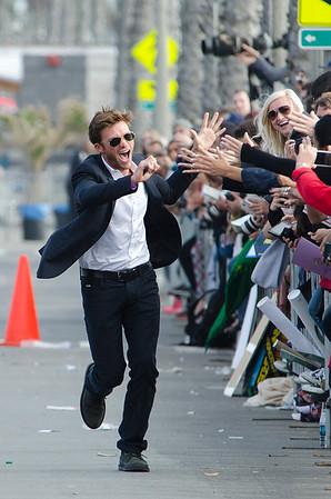 Scott Eastwood spotted in Santa Monica.