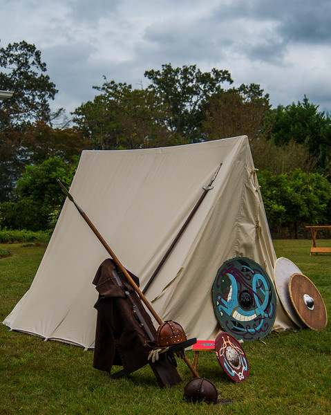 Viking Encampment at Barrington Hall