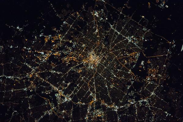 #GoodMorning #SanAntonio! Looking good down there. #Texas #YearInSpace