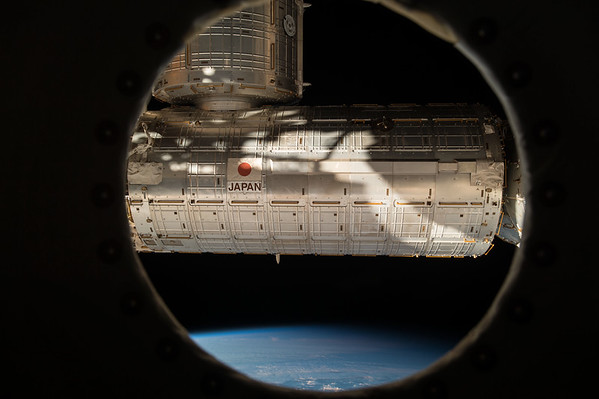 Moved our closet (PMM) to this port on Node 3. Likely last picture ever to be taken from this window. #YearInSpace