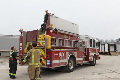 Building Fire - UPS Freight, Shewsbury, MA - 2/20/19