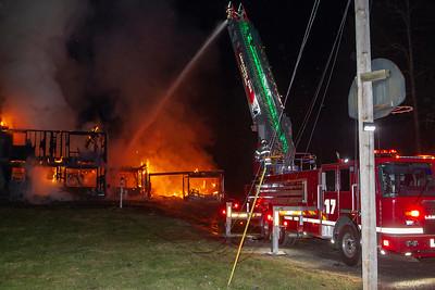 2 Alarm Structure Fire - 354 Brockelman Rd Lancaster Ma