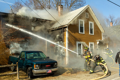 2 Alarm Structure Fire - 90 Chase St, Clinton, MA - 3/2/20