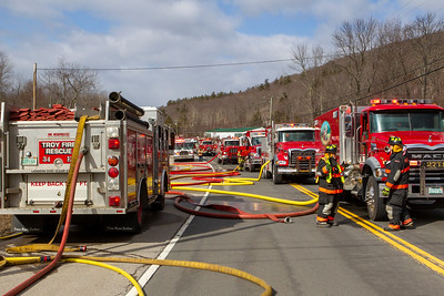 3 Alarm Structure Fire -755 Monadnock Hwy Rt 12, NH - 2/28/20