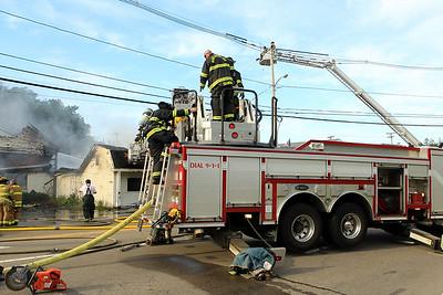 4 Alarm Stucture fire - 48 W.Main St Northboro Ma -06/02/18