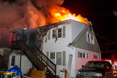 Rear of the home on 10th St SENTINEL&ENTERPRISE/Scott LaPrade