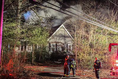 Structure Fire - 258 South St Tewksbury Ma - 02/17/18