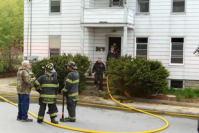 small basement fire 76 Heywood St