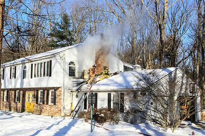 House fire 37 Goodrich St Lunenburg SENTINEL&ENTERPRISE/Scott LaPrade