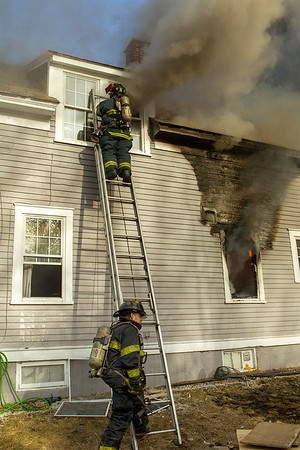 Structure Fire - 200 Electric Ave, Fitchburg, MA - 3/16/20