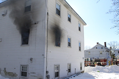 Working Structure Fire - 41 Hamilton St Leominster Ma 01/06/18