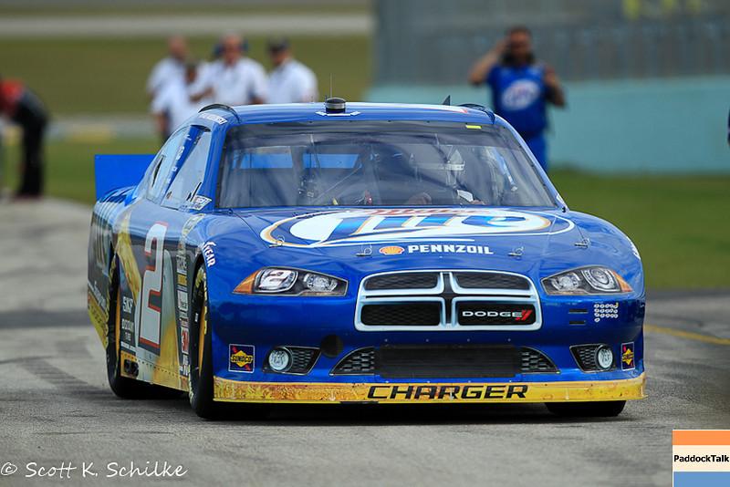 2012 NASCAR Sprint Cup champion Brad Keselowski