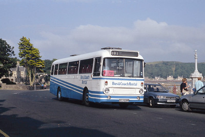 Bus and Coach Rental Dennistoun OSJ628R Millport Aug 91