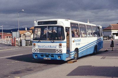 Bus and Coach Rental Dennistoun RCS702R Dunoon Pier Jun 94