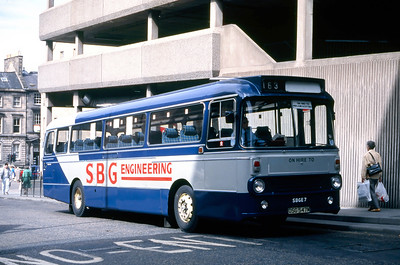 SBG Engineering OSG547M Elder Street Edinburgh Jul 88